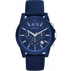 Armani Exchange Мужские Часы Outerbanks AX1327 Хронограф