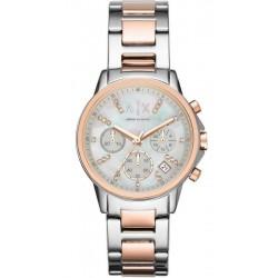 Купить Armani Exchange Женские Часы Lady Banks AX4331 Хронограф