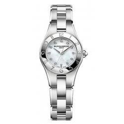 Купить Baume & Mercier Женские Часы Linea 10011 Бриллианты Перламутр