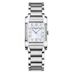 Купить Baume & Mercier Женские Часы Hampton 10051 Бриллианты Перламутр
