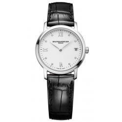 Купить Baume & Mercier Женские Часы Classima 10146 Бриллианты Quartz
