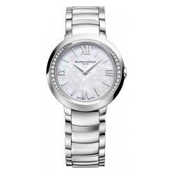 Купить Baume & Mercier Женские Часы Promesse 10160 Бриллианты Перламутр