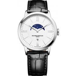 Купить Baume & Mercier Мужские Часы Classima 10219 Moonphase Quartz