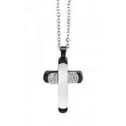 Купить Boccadamo Мужские Ожерелье Man AGR163N Распятие
