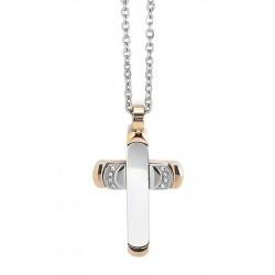 Купить Boccadamo Мужские Ожерелье Man AGR163R Распятие