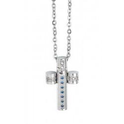 Купить Boccadamo Мужские Ожерелье Man AGR164B Распятие