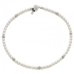 Купить Boccadamo Женские Ожерелье Perle GR497 Swarovski