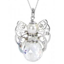 Купить Boccadamo Женские Ожерелье Kerubina KUGR02 Swarovski Ангел