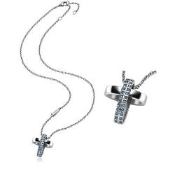 Купить Breil Женские Ожерелье Charming Cross TJ1462 Распятие