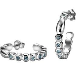 Купить Breil Женские Серьги Rolling Diamonds TJ1573