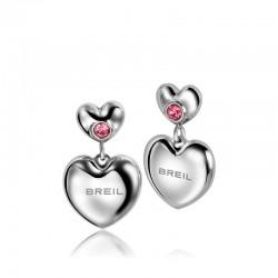 Купить Breil Женские Серьги Love Around TJ1704 Сердце