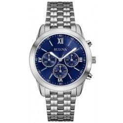 Купить Bulova Мужские Часы Dress 96A174 Кварцевый Хронограф