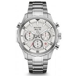 Купить Bulova Мужские Часы Marine Star 96B255 Кварцевый Хронограф