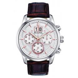 Купить Bulova Мужские Часы Sutton Classic 96B309 Кварцевый Хронограф