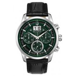 Купить Bulova Мужские Часы Sutton Classic 96B310 Кварцевый Хронограф