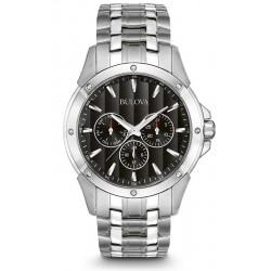 Купить Bulova Мужские Часы Dress 96C107 Кварцевый Многофункциональный