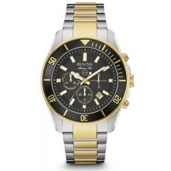 Купить Bulova Мужские Часы Marine Star 98B249 Кварцевый Хронограф