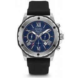 Купить Bulova Мужские Часы Marine Star 98B258 Кварцевый Хронограф