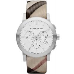 Купить Burberry Мужские Часы The City Nova Check BU9357 Хронограф