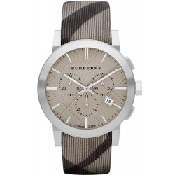 Купить Burberry Мужские Часы The City Nova Check BU9358 Хронограф