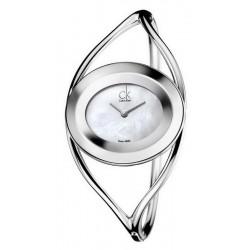 Купить Calvin Klein Женские Часы Delight Middle K1A2371G Перламутр