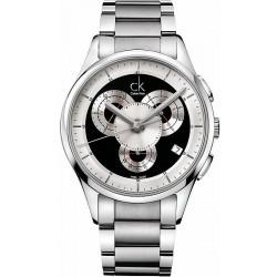 Купить Calvin Klein Мужские Часы Basic K2A27104 Хронограф