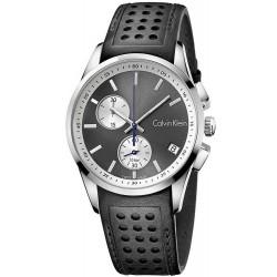 Купить Calvin Klein Мужские Часы Bold K5A371C3 Хронограф