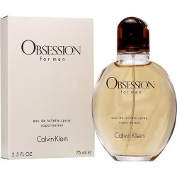 Calvin Klein Obsession For Men Мужские Аромат Eau de Toilette EDT 75 ml