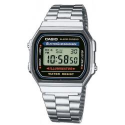 Купить Casio Collection Унисекс Часы A168WA-1YES Digital Многофункциональный