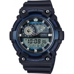 Купить Casio Collection Мужские Часы AEQ-200W-2AVEF Ana-Digi Многофункциональный