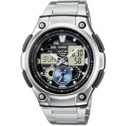 Купить Casio Collection Мужские Часы AQ-190WD-1AVEF Ana-Digi Многофункциональный