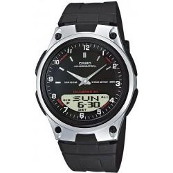 Купить Casio Collection Мужские Часы AW-80-1AVES Ana-Digi Многофункциональный