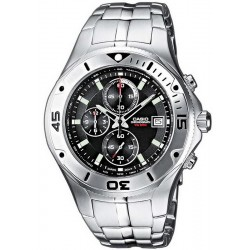 Купить Casio Collection Мужские Часы MTD-1057D-1AVES Хронограф