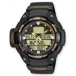 Купить Casio Collection Мужские Часы SGW-400H-1B2VER Ana-Digi Многофункциональный