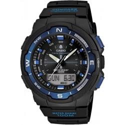 Купить Casio Collection Мужские Часы SGW-500H-2BVER Ana-Digi Многофункциональный