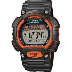 Купить Casio Sports Унисекс Часы STL-S100H-4AVEF Digital Solar Многофункциональный