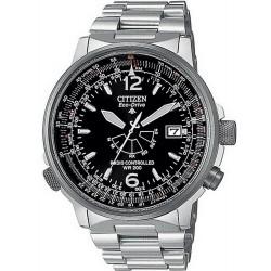 Купить Citizen Мужские Часы Promaster Nighthawk Радиоуправляемые AS2020-53E