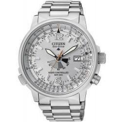Citizen Мужские Часы Promaster Nighthawk Радиоуправляемые AS2020-53H