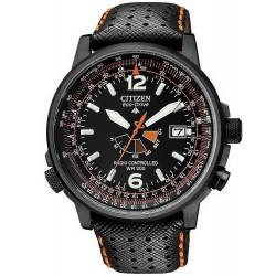 Купить Citizen Мужские Часы Eco-Drive Радиоуправляемые AS2025-09E
