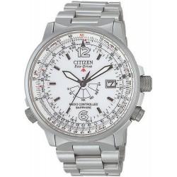 Купить Citizen Мужские Часы Promaster Радиоуправляемые Титан AS2031-57A
