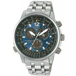 Купить Citizen Мужские Часы Promaster Хроно Радиоуправляемые Титан AS4050-51L