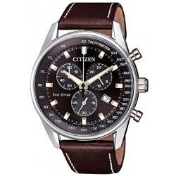 Купить Citizen Мужские Часы Chrono Eco-Drive AT2396-19X