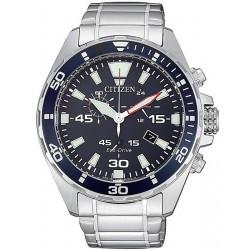 Купить Citizen Мужские Часы Chrono Sport Eco-Drive AT2431-87L