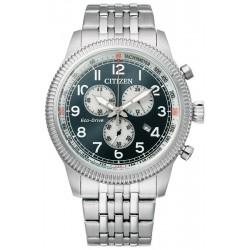 Купить Citizen Мужские Часы Aviator Хроно Eco Drive AT2460-89L