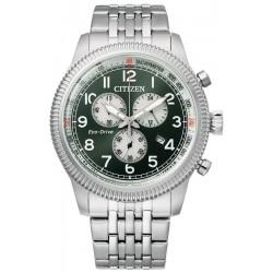 Купить Citizen Мужские Часы Aviator Хроно Eco Drive AT2460-89X