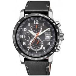 Купить Citizen Мужские Часы Радиоуправляемые H800 Sport Eco-Drive AT8124-08H