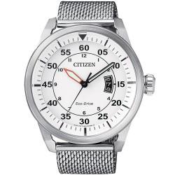 Купить Citizen Мужские Часы Aviator Eco-Drive AW1360-55A