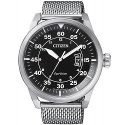 Купить Citizen Мужские Часы Aviator Eco-Drive AW1360-55E