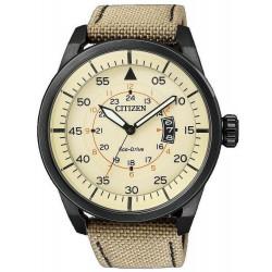 Купить Citizen Мужские Часы Aviator Eco-Drive AW1365-19P