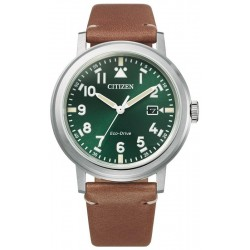Citizen Мужские Часы Military Eco Drive AW1620-13X